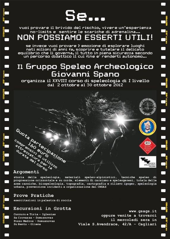 XXVIII Corso di Speleologia Carsica 2012