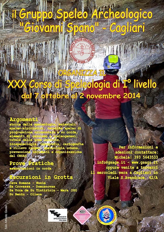XXX Corso di Speleologia di I Livello 2014