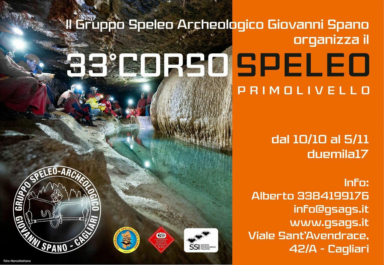 33° Corso Speleo 1° Livello 2017