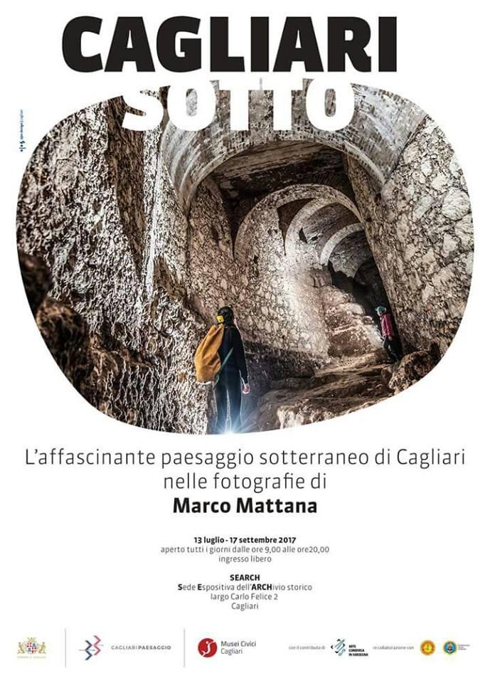 """Il SEARCH inaugura la mostra """" Cagliari Sotto """" di Marco Mattana"""